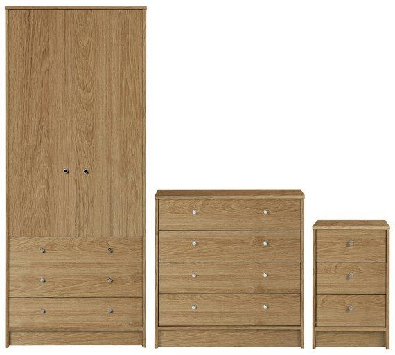 frade malibu 3 piece bedroom sets