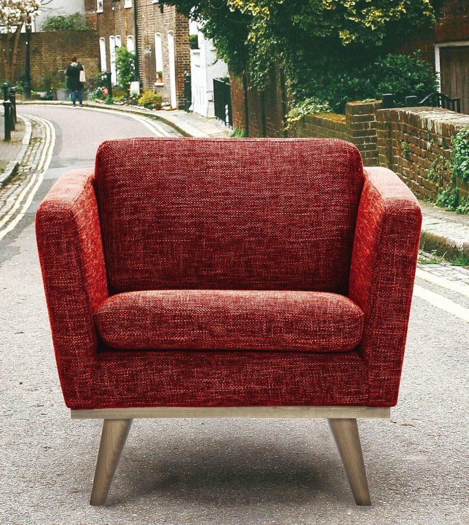 Don't leave armchairs this way, call Frade today