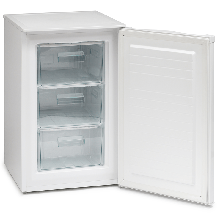frade Ice King RZ83AP2 50cm Undercounter Freezer inside
